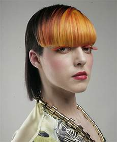 bi level bob haircut bi level haircut with the sides clipped around the ears and a back that covers the neckline