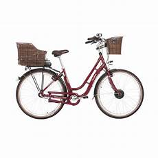 fischer er 1804 damen city e bike bordeaux modell 2018
