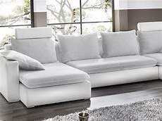 hellgraue couch sofa wohnlandschaft orlando 385x208 160cm hellgrau wei 223