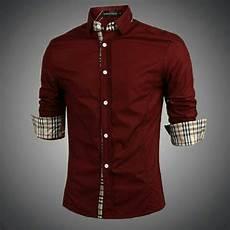 baju kemeja pria lengan panjang terbaru keren modern ryn fashion