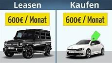 auto leasen oder kaufen was ist besser