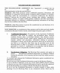employee non disclosure agreement pdf gtld world congress
