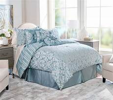 northern nights jacquard reversible 7 piece full comforter page 1 qvc com