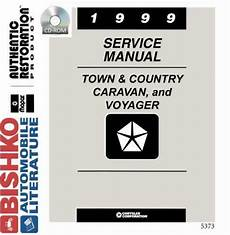 automotive repair manual 2002 chrysler town country parking system chrysler town and country service manual ebay
