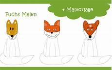 Malvorlage Gans Einfach Fuchs Malen Mit Vorlage Geht Es Ganz Einfach
