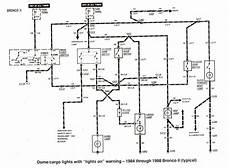1984 Ford Bronco Wiring Schematic by Wiring Diagram For 1984 Ford Bronco Ii