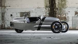 This Is Morgans Cyclops Like Electric 3 Wheeler  Top Gear