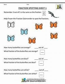 finding fractions fraction spotting