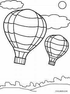 printable air balloon coloring pages for cool2bkids