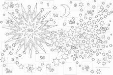 malvorlagen adventskalender adventkalender advent