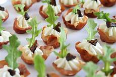 showfood chef appetizer prosciutto with goat cheese and fig simple saturday