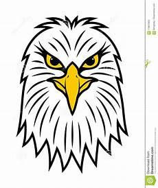 vue de de t 234 te am 233 ricaine d aigle illustration de