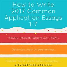 how to write your common applying to college college essay writing and interview