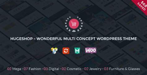 hugeshop v1 2 wonderful multi concept wordpress theme
