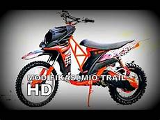 Mio Sporty Modif Trail by Modifikasi Mio Trail Komo Joyo Jepara