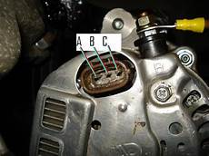 Denso One Wire Alternator Wiring Diagram by Nippon Denso Alternator Connections