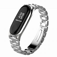 Mijobs Replacement Metal Stainless Steel Frame by Mijobs Metal For Original Xiaomi Mi Band 3