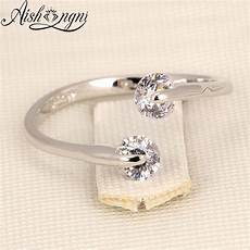 charm cubic zirconia rings for gift jewelry simple