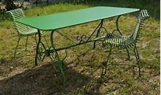 table de jardin rectangulaire en m 233 tal fer forg 233 arras