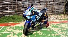 Helm Vixion Modif by Vixion Diubah Jadi R1m Inspirasinya Dari Helm Agv