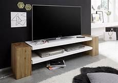 Meuble Tv Contemporain 170 Cm Ii Ch 234 Ne Massif Blanc