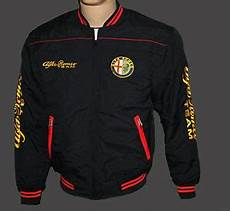 alfa romeo black jacket from m to size ebay