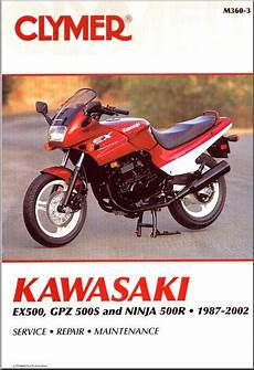 1993 Kawasaki Ex500 Wiring Diagram by Sell 1987 2002 Kawasaki Ex 500 500r Repair Manual