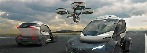 Airbus' Drone Car Hybrid Takes To The Sky When Stuck In