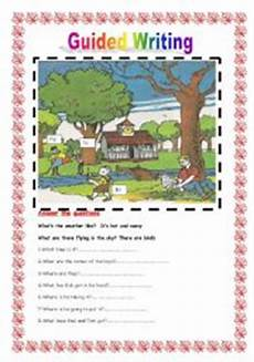guided writing worksheets for grade 2 22815 guided writing n 186 3 esl worksheet by sirah