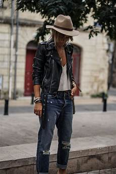 Style Rock Femme Ronde