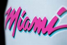 miami vice logo nba s miami heat embraces all things vice in logo how