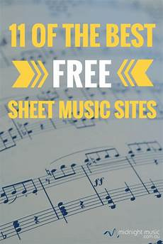 11 of the best free sheet music sites midnight music