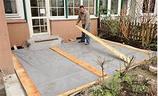 fundament f 252 r terrasse fundamente selbst de