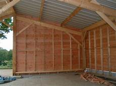 plan garage bois 1 pente l impression 3d