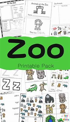 zoo animal activities for preschoolers kindergarteners fun with