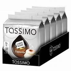 carte tassimo capsule tassimo carte cappuccino 5 paquets 40