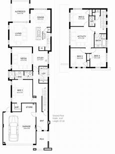 house plans for long narrow lots ideas for narrow lot house custom plans long lots home