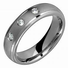 mens titanium ring with diamond engagement wedding band for him n ebay