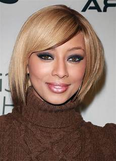 keri hilson short angled bob hairstyle for winter styles