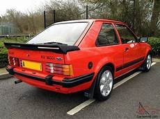 ford mk3 rs1600i rsi rs 1600i not rs turbo xr3 xr2