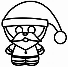 how to draw cartoons chibi santa