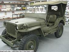 1942 Willys Army Jeep Mint Condition No Repairs Only