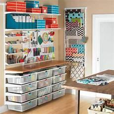 craft room elfa storage solution elfa hobbies pinterest