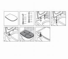 wc sitz montageanleitung duravit d code wc sitz scharniere edelstahl ohne