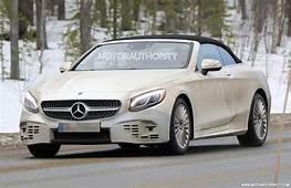 2019 Mercedes Benz S Class Cabriolet Spy Shots