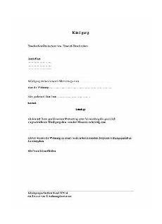 wohnungskündigung per mail wohnung mietvertrag k 252 ndigen