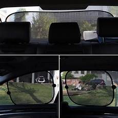 Car Side Rear Window Auto Sun Shade Visor Shield Mesh