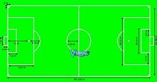 Gambar Lapangan Sepak Bola Beserta Ukuran Dan