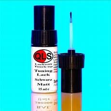 lackstift schwarz matt qls lackstift 15 ml tuning lack schwarz matt qls7640