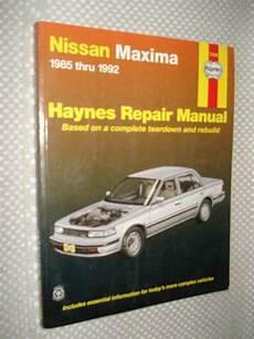 book repair manual 1992 nissan maxima auto manual sell 1985 1992 nissan maxima service manual shop book 86 87 88 89 90 91 haynes motorcycle in